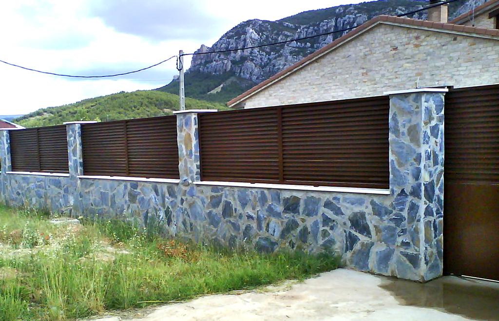 Vallados y cerramientos talleres armis n taller de - Vallas y cerramientos ...